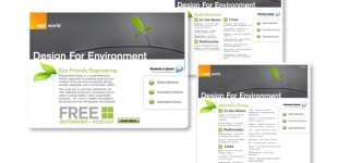 Solidworks: (Design for the Environment) Microsite